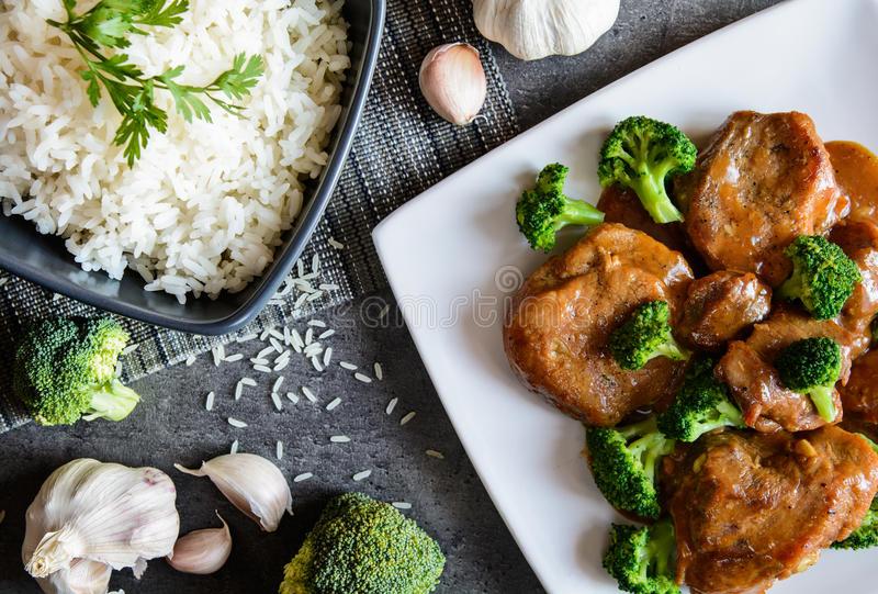 Broccoli al vapore con Aceto Balsamico