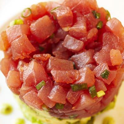 Tartare di tonno fresco cenaunavolta