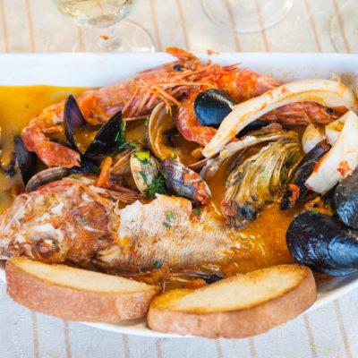 zuppa di pesce cenaunavoltablog