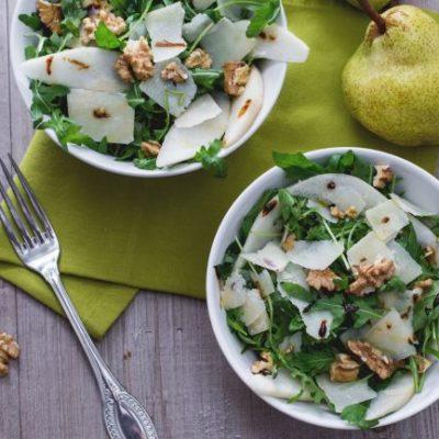 insalata parmigiano e pere cenaunavoltablog